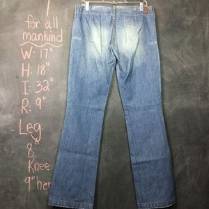 7 FOR ALL MANKIND | 70s Style Flare Wide Leg Jeans